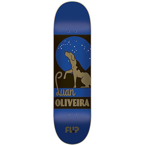 Flip Weirdo Series Luan Oliviera Skateboard Deck 8.13