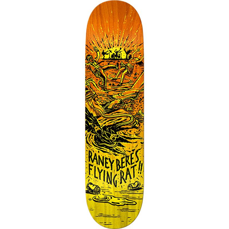 Flying Rat Raney Beres 2 Skateboard Deck 8.25