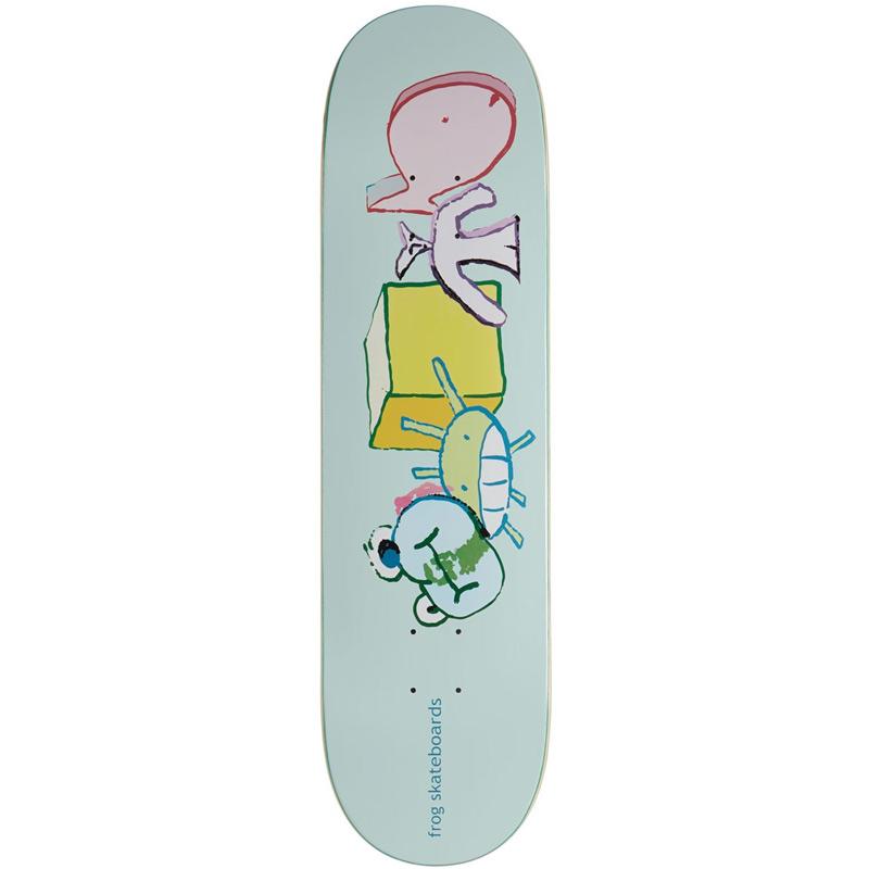 Frog Block Masters Skateboard Deck 8.25