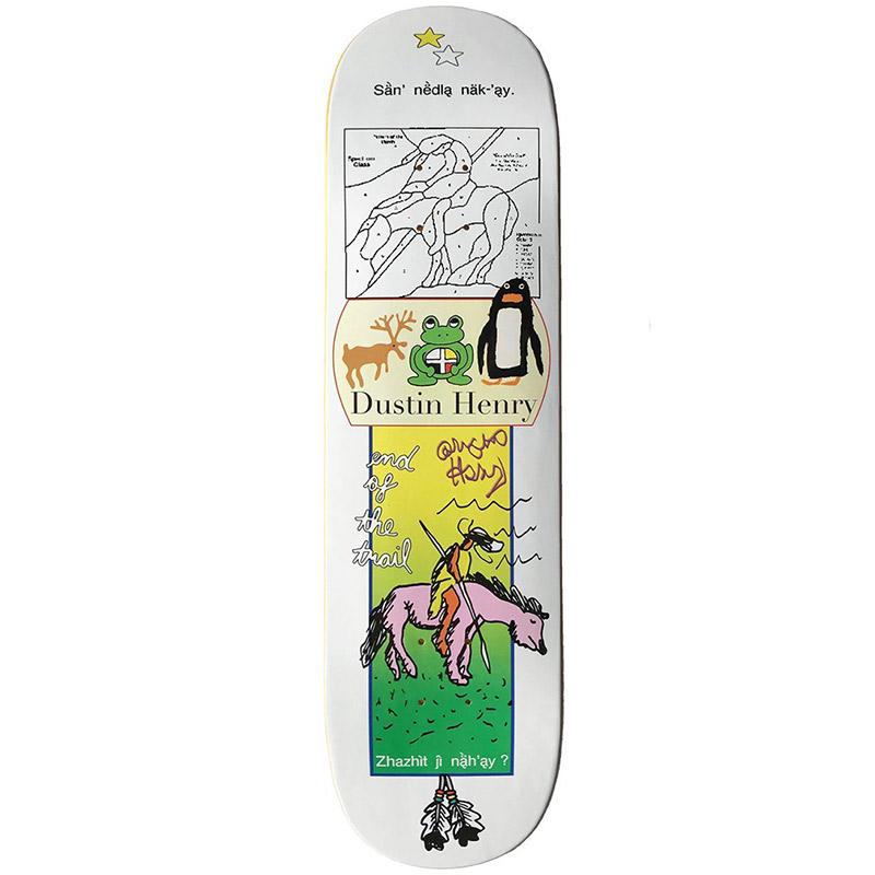 Frog Dustin Henry GuestSkate Board Deck 8.5