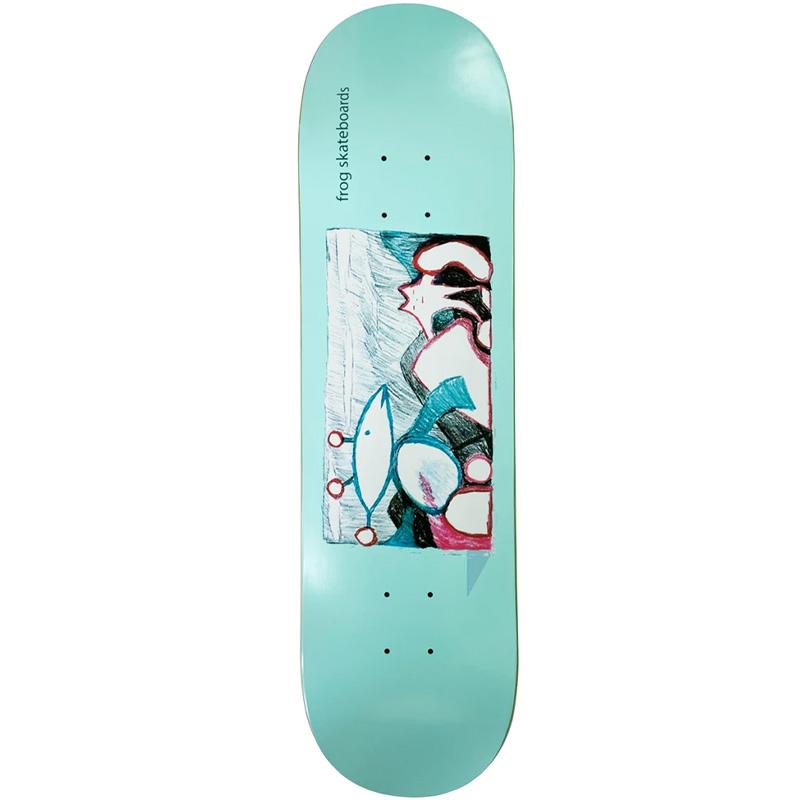 Frog Extra Help Skateboard Deck 8.25