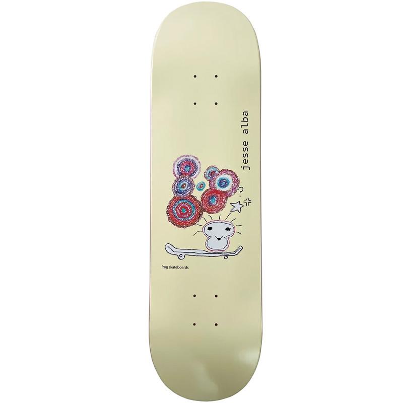 Frog Jess Alba Skateboard Deck 8.6