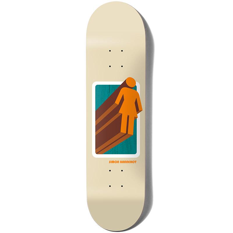 Girl Bannerot 3D OG Skateboard Deck 8.5