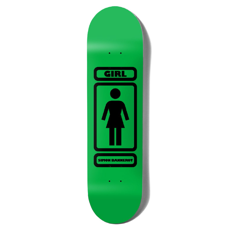 Girl Bannerot 93 Til Skateboard Deck Green/Black 8.25