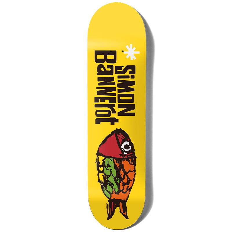 Girl Bannerot Pictograph Skateboard Deck 8.0
