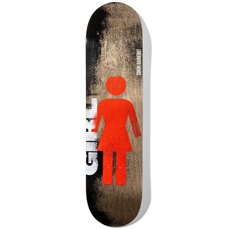 Girl Bannerot Roller OG Series Skateboard Deck 8.0