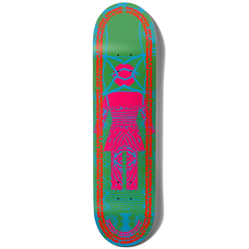 Girl Bennett Vibration Og Skateboard Deck 8.25