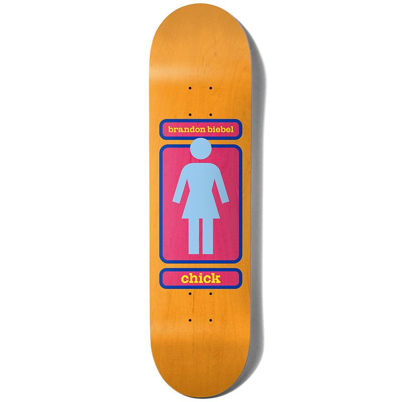 Girl Biebel Chick 93 Til Skateboard Deck 8.0