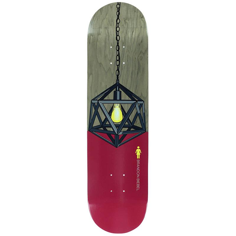 Girl Biebel Illuminated Skateboard Deck 8.0