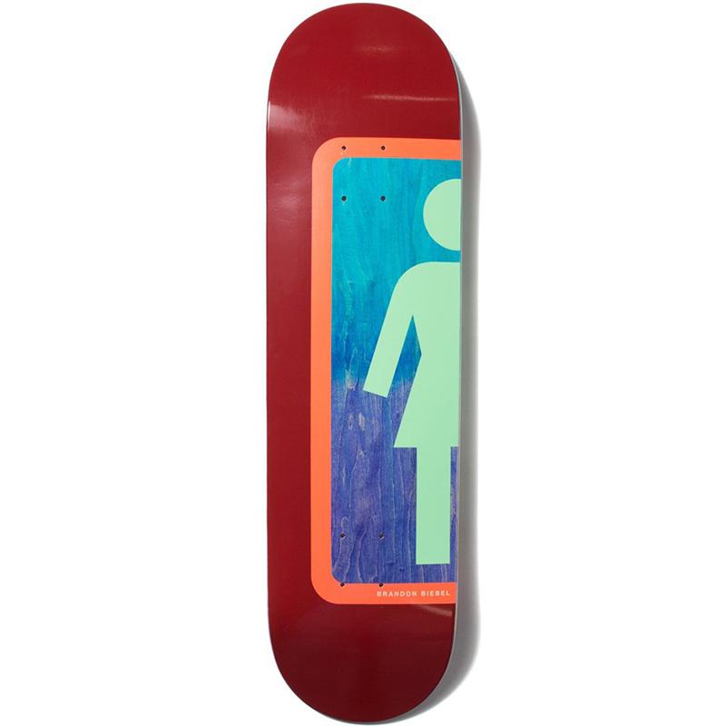 Girl Biebel Ombre Og Skateboard Deck 8.0