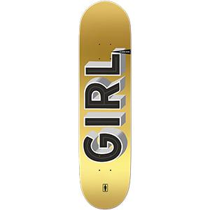 Girl Biebel Sign Painter Skateboard Deck 8.0