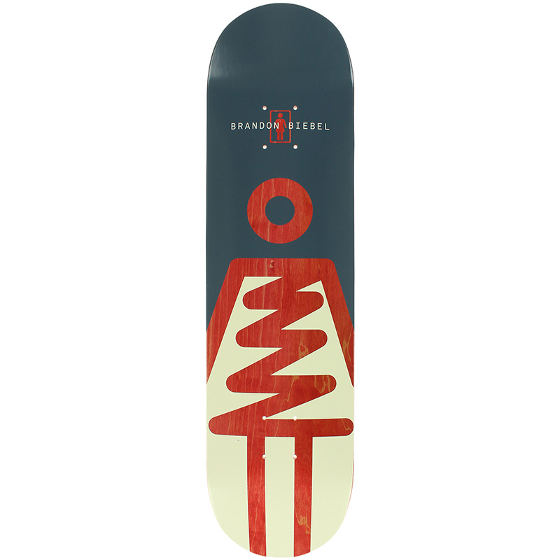 Girl Biebel Zig Zag Skateboard Deck 8.0