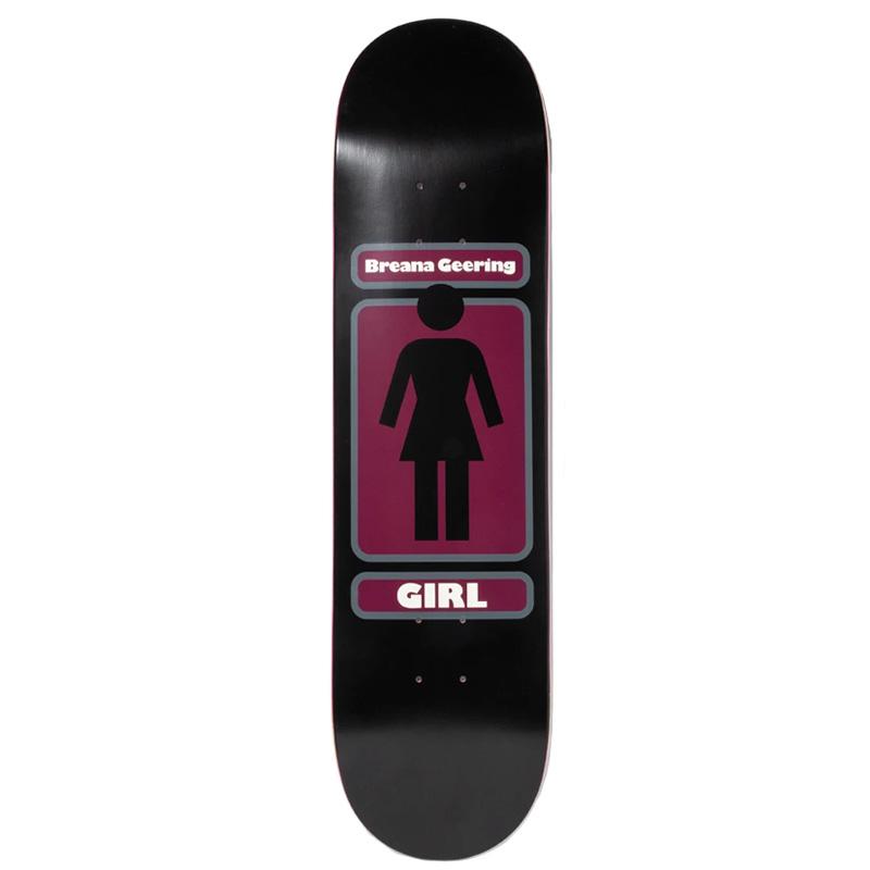 Girl Breana Geering 93 Til Skateboard Deck Black 8.25