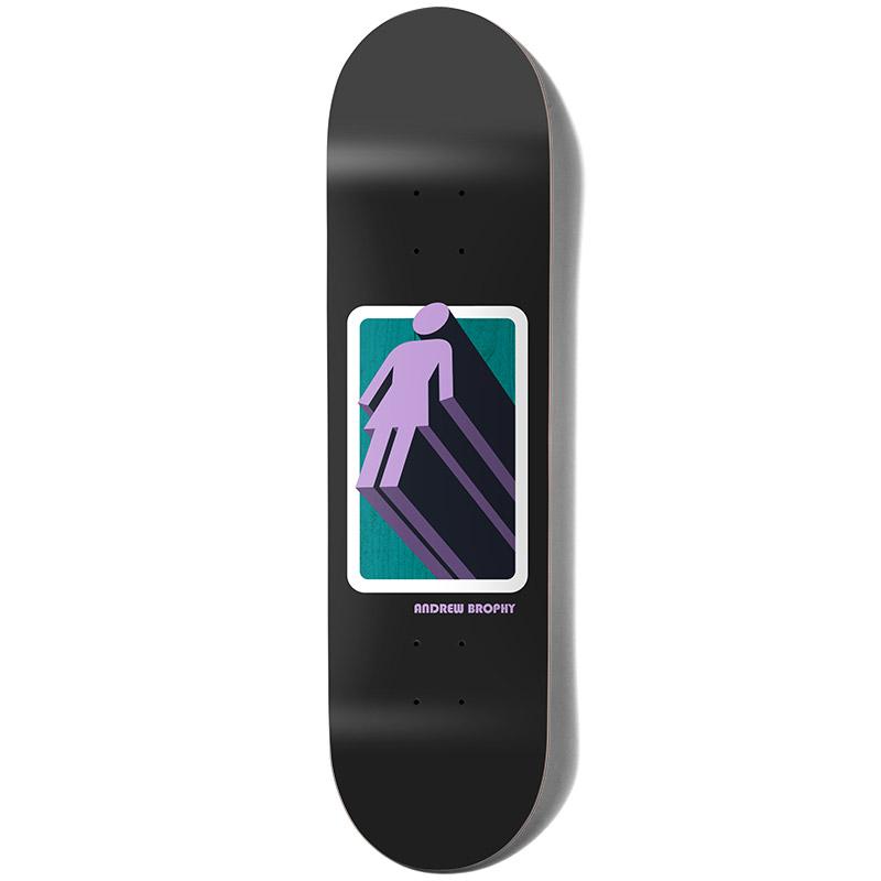 Girl Brophy 3D OG Skateboard Deck 7.875