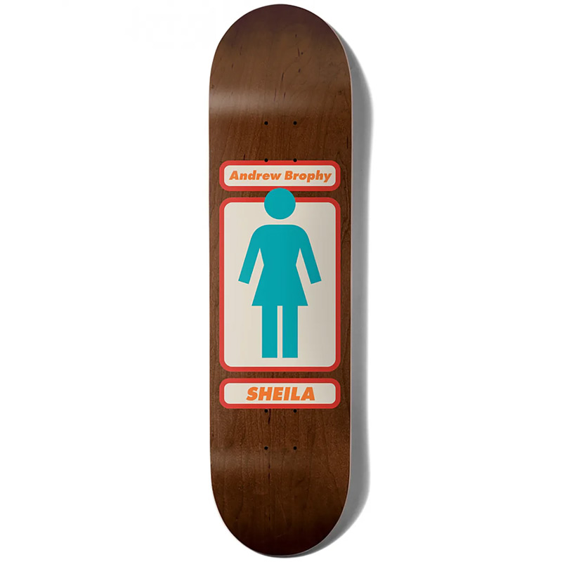 Girl Brophy 93 Til Infinity Skateboard Deck 8.25