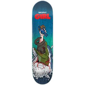 Girl Brophy Mean-Eater One Off Skateboard Deck 8.0
