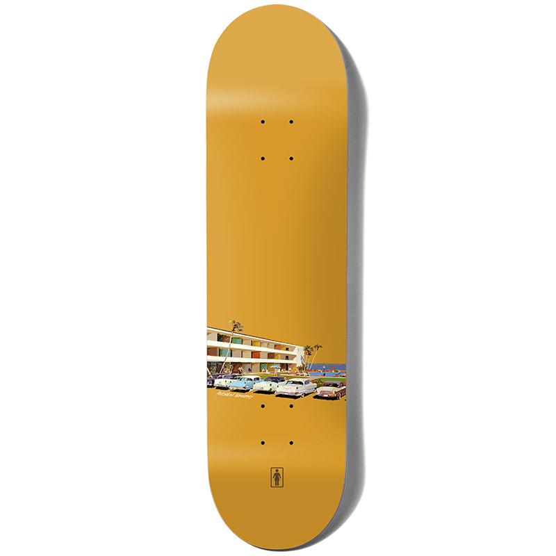 Girl Brophy No Vacancy Skateboard Deck 8.125