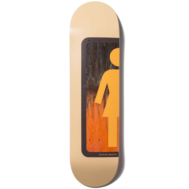 Girl Brophy Ombre Og Skateboard Deck 8.125