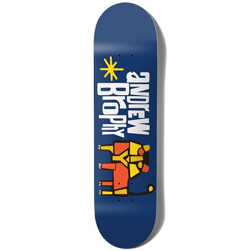 Girl Brophy Pictograph Skateboard Deck 8.0