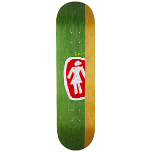 Girl Brophy Sketchy Og Skateboard Deck 8.25