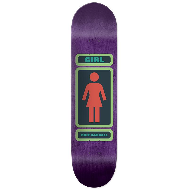 Girl Caroll 93 Til Infinity Skateboard Deck 8.125