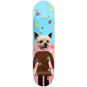 Girl Carroll Coco One Off Skateboard Deck 8.375