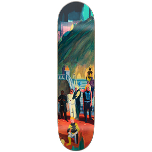 Girl Carroll J. de Balincourt Studio Series 3 Skateboard Deck 8.375