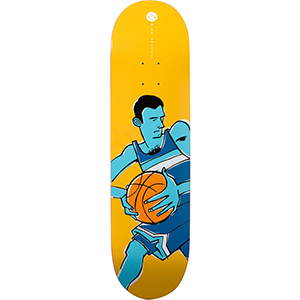 Girl Carroll Jenks Basketball Skateboard Deck 8.375