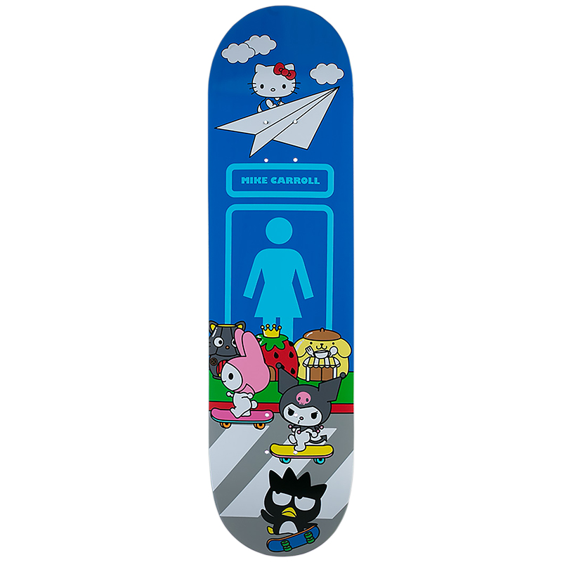 Girl Carroll Sanrio World Deck 8.375