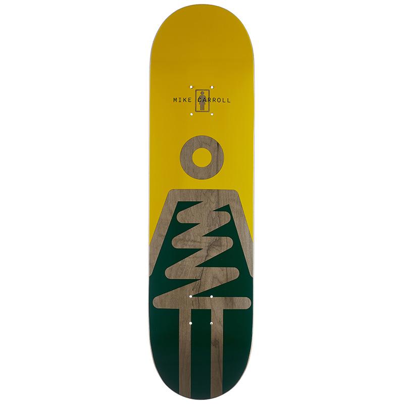 Girl Carroll Zig Zag Skateboard Deck 8.375