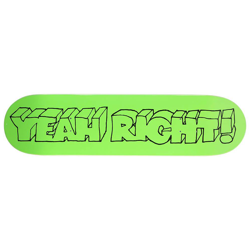 Girl Films Yeah Right Skateboard Deck 8.0