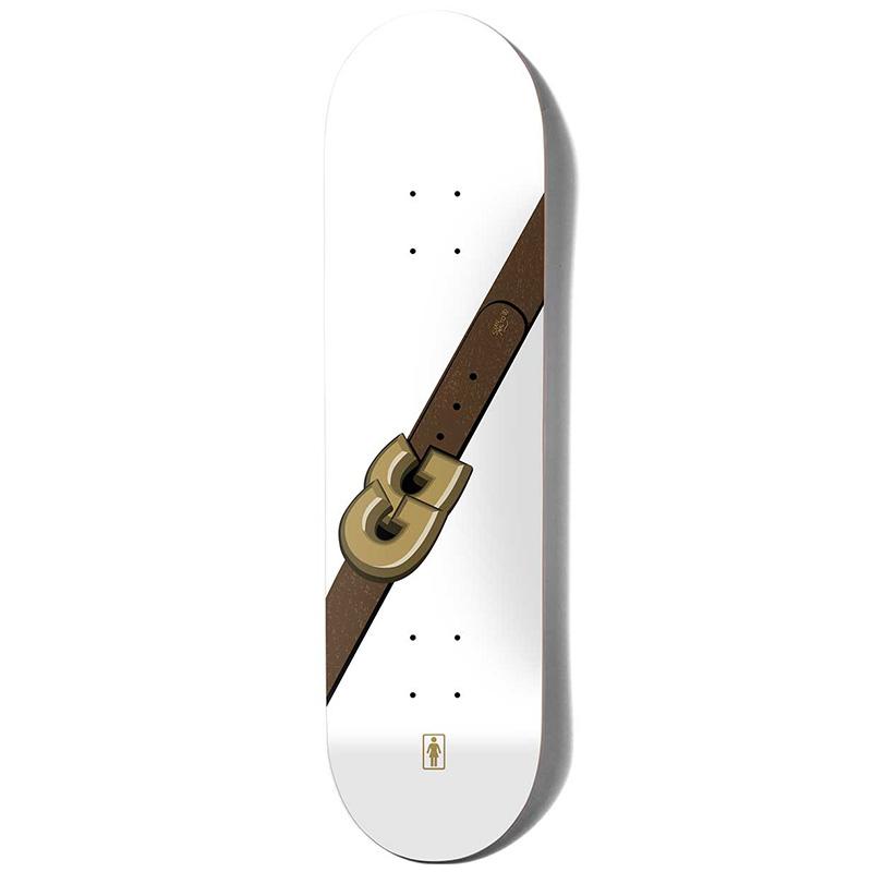 Girl Gass Gg Skateboard Deck 8.25