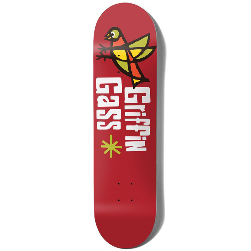 Girl Gass Pictograph Skateboard Deck 8.5
