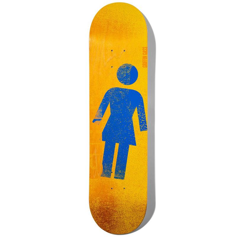 Girl Gass Roller OG Series Skateboard Deck 8.5