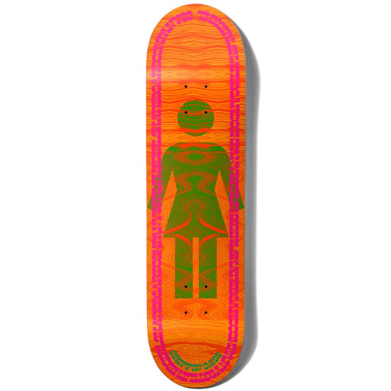Girl Gass Vibration Og Skateboard Deck 8.0