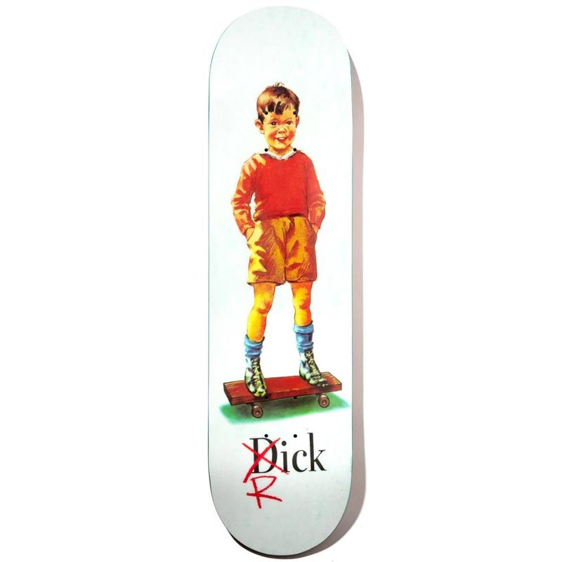Girl Howard Dick Slick Skateboard Deck 8.25
