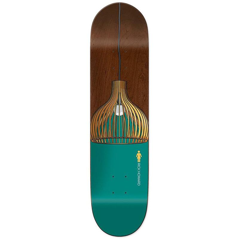 Girl Howard Illuminated Skateboard Deck 8.5
