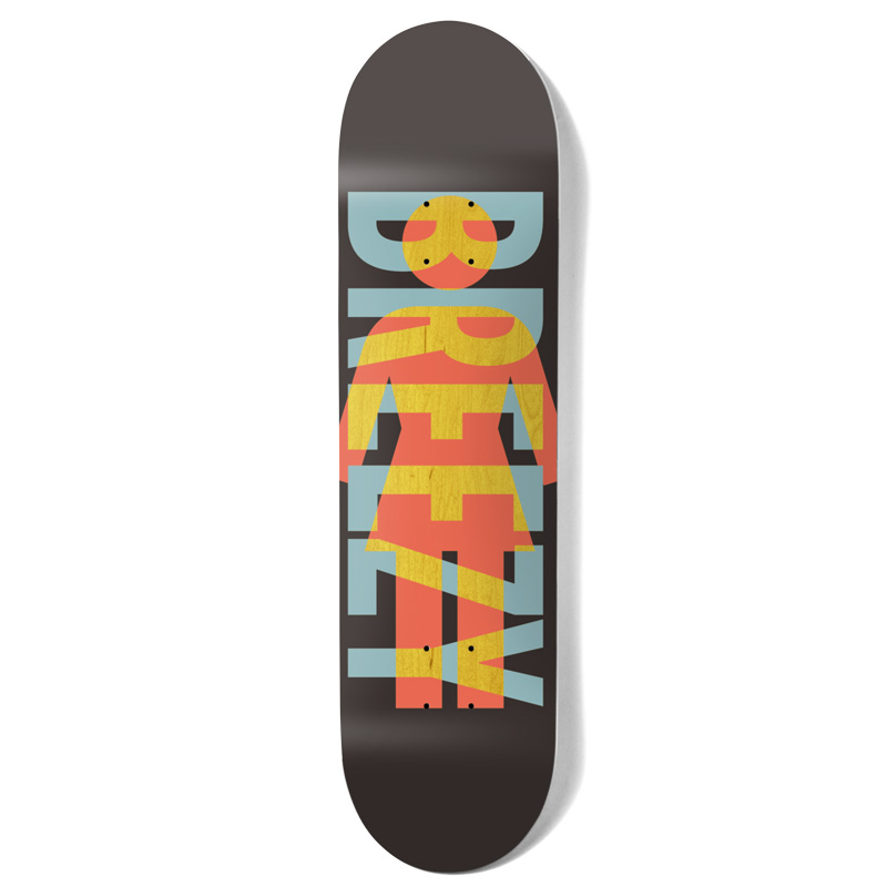 Girl Howard OG Knockout Skateboard Deck Black 8.0