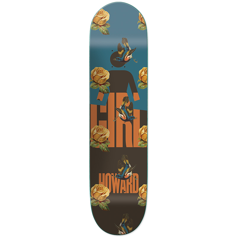 Girl Howard Sanctuary Skateboard Deck 8.5