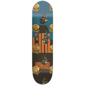 Girl Howard Sanctuary Skateboard Deck 8.5
