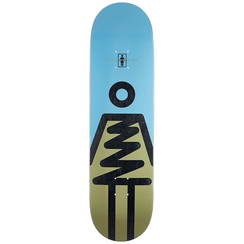 Girl Howard Zig Zag Skateboard Deck 8.5