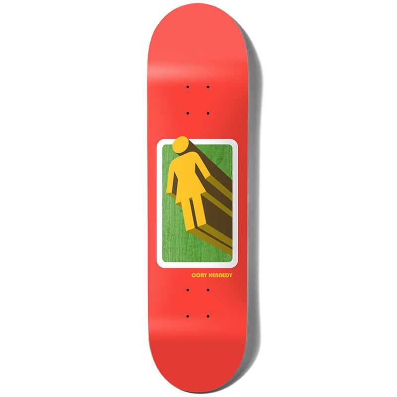 Girl Kennedy 3D OG Skateboard Deck 8.25