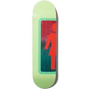 Girl Kennedy Ombre Og Skateboard Deck 8.375