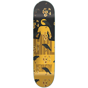 Girl Kennedy Sanctuary Skateboard Deck 8.25