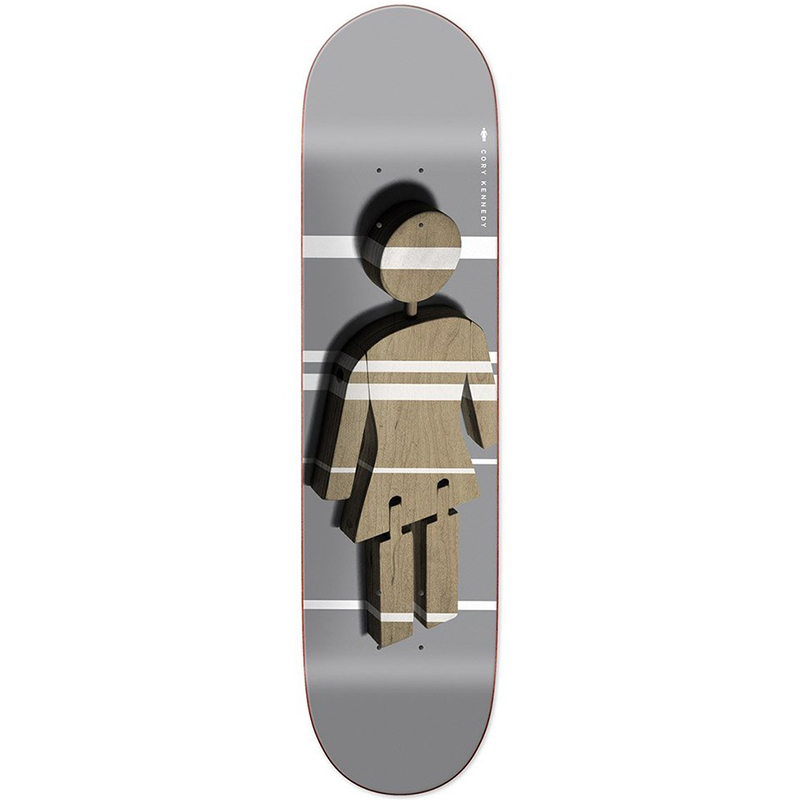 Girl Kennedy Shutter Og Skateboard Deck 8.375