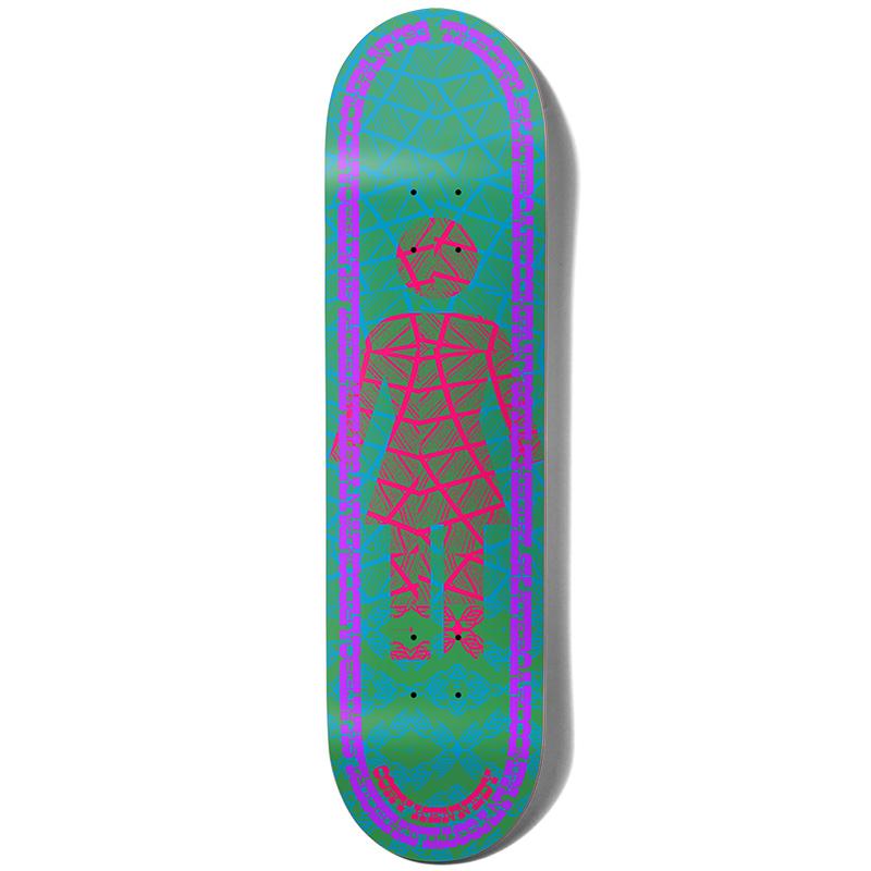 Girl Kennedy Vibration Og Skateboard Deck 8.375