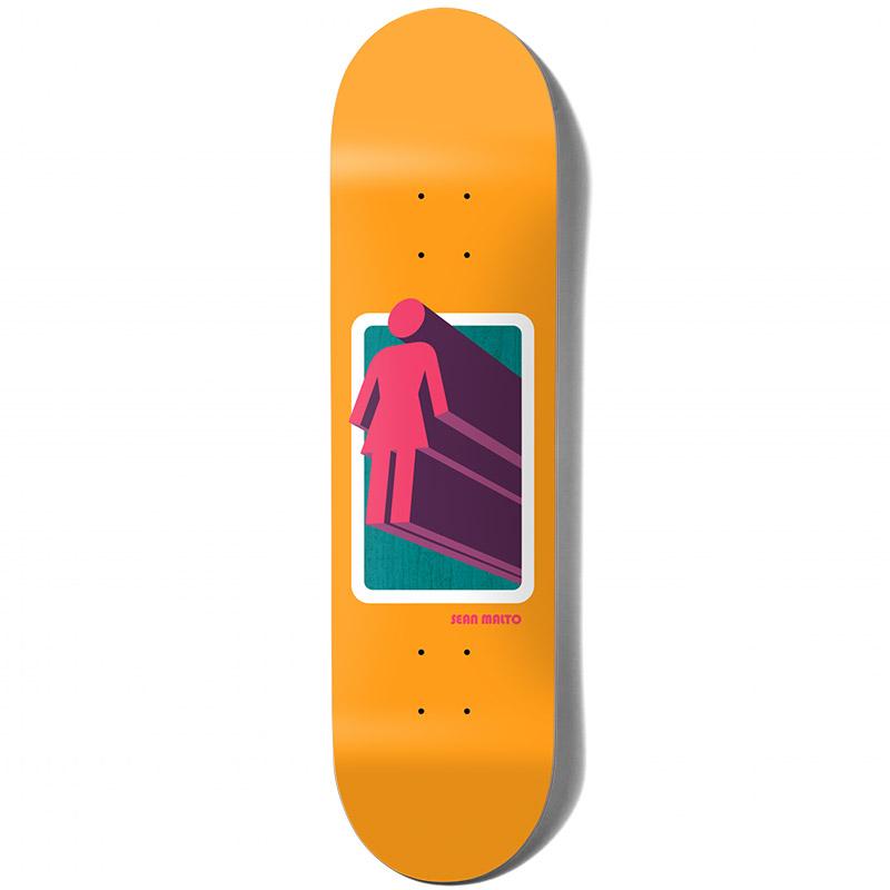 Girl Malto 3D OG Skateboard Deck 7.75