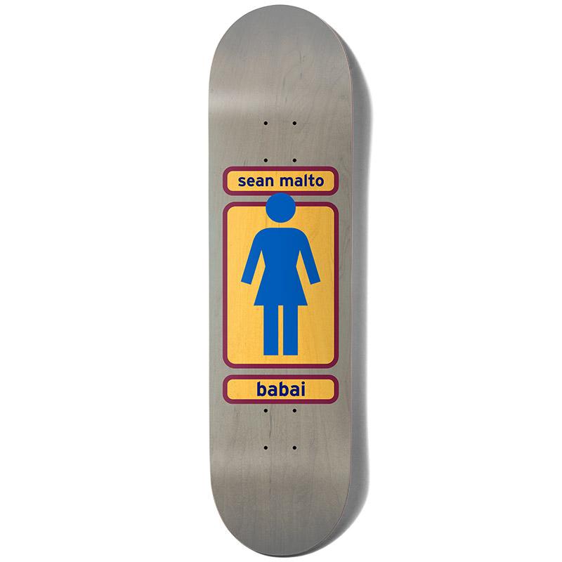 Girl Malto Babai 93 Til Skateboard Deck 8.25