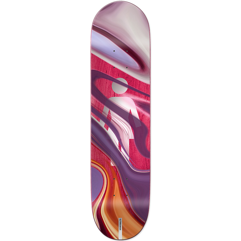 Girl Malto Oil Slick Skateboard Deck 7.75