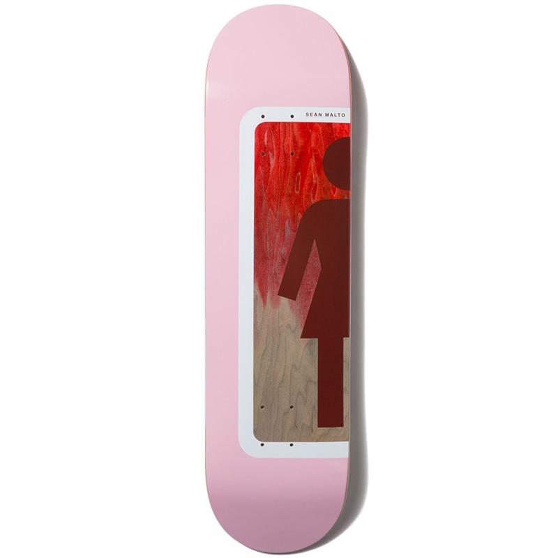 Girl Malto Ombre Og Skateboard Deck 8.25